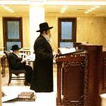 Rebbe Davening